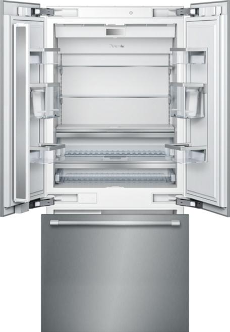 """Thermador 36"""" French Door Refrigerator w/ Bottom Mount Freezer & Pro Handles"""