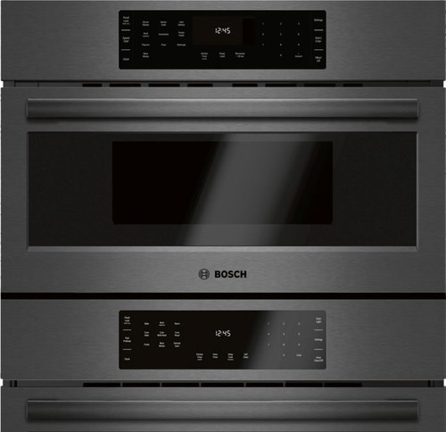 "Bosch 30"" 800 Series Micro-Speed & Wall Oven - Black Stainless"