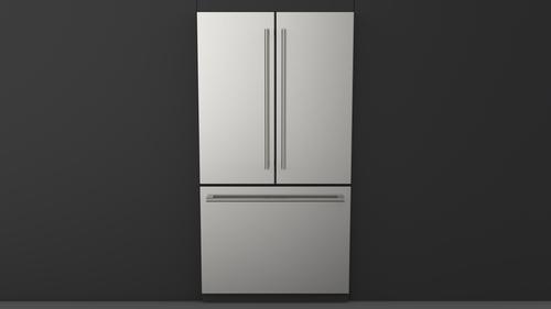 "Fulgor Milano 36"" 600 Series Freestanding French Door Refrigerator"