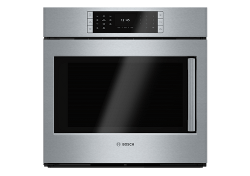 "Display Model: Bosch 30"", Benchmark Series, Single Wall Oven - Left Swing Door (1 Only)"