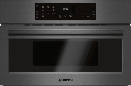 "Bosch 30"" 800 Series Speed / Convection Microwave - 240V - Black SS"