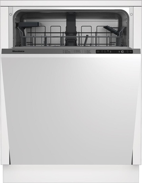 "Blomberg 24"" Dishwasher w/ Top Control & 6 Cycles - Custom Panel Ready"