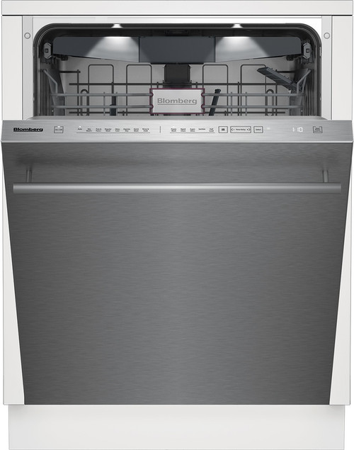 "Blomberg 24"" Dishwasher w/ Top Control & 8 Cycles - Bar Handle"