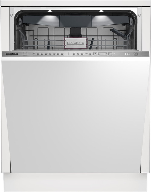 """Blomberg 24"""" Dishwasher w/ Top Control & 8 Cycles - Custom Panel Ready"""