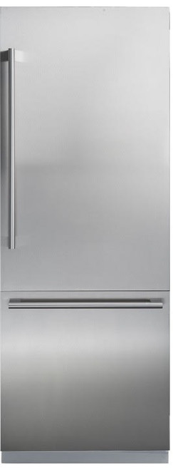 "Blomberg 24"" Fully Integrated Custom Panel Fridge w/ Water Dispenser & Ice Maker"