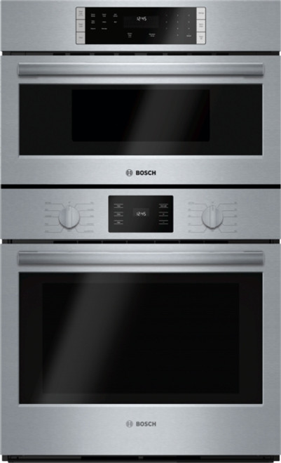 "Bosch 30"" 500 Series Microwave & Wall Oven"