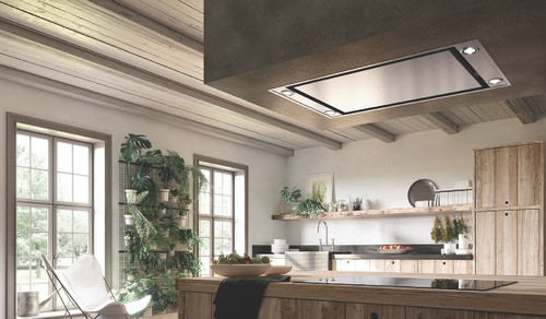 "Faber Stratus 36"" Ceiling Hood - SS"