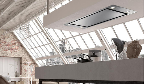 "Faber Stratus 48"" Ceiling Hood - SS"