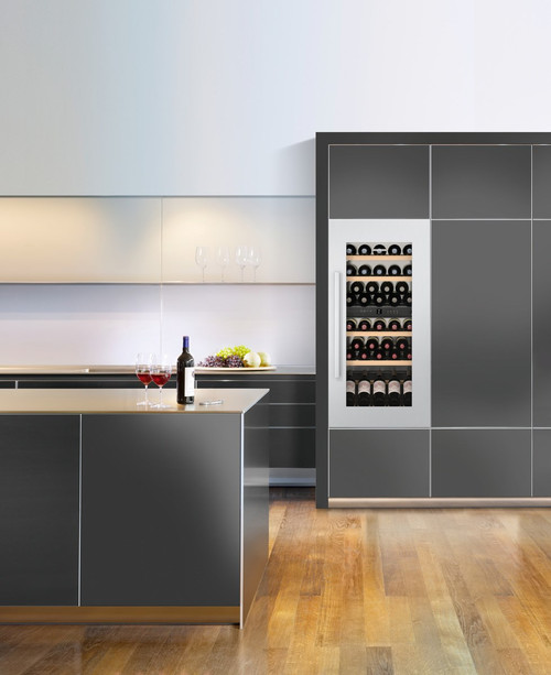 "Liebherr 24"" Fully Integrated Wine Storage Cabinet - 158L Capacity"