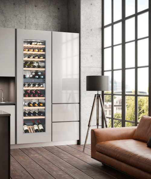 "Liebherr 24"" Fully Integrated Wine Storage Cabinet - 254L Capacity"