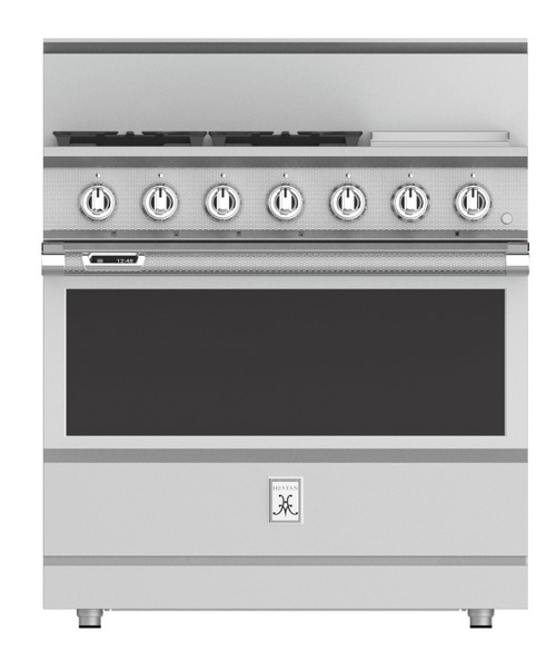 "Hestan 36"" Dual Fuel Range with Griddle"