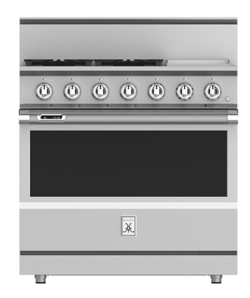 "Hestan 36"" Gas Range with Griddle"
