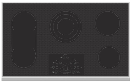 "Hestan 36"" Electric Cooktop"