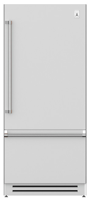 "Hestan 36"" Bottom Mount Refrigerator with Bottom Compressor"