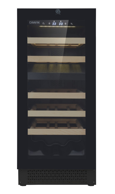 "Cavavin 15"" Dual Zone Wine Cellar - Push-To-Open"