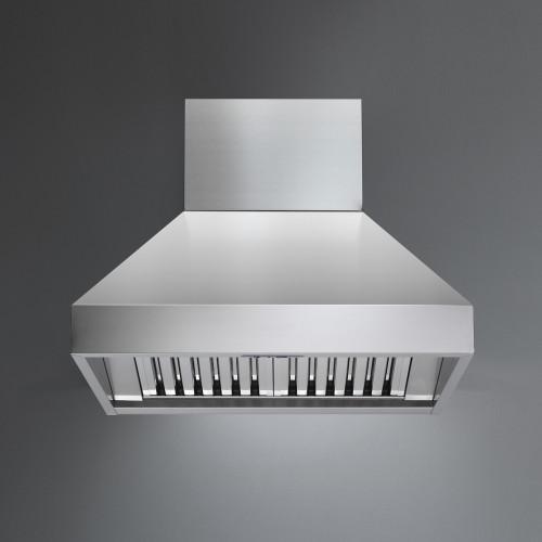 """Falmec Zeus Pyramid 36"""" Pro Wall Hood - 1000 CFM"""