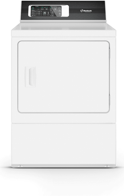 Huebsch Rear Control Electric Dryer w/ 7 Cycles