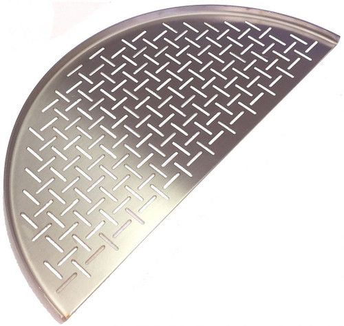 KAMADO JOE - Classic Joe Half Moon SS Cooking Grate