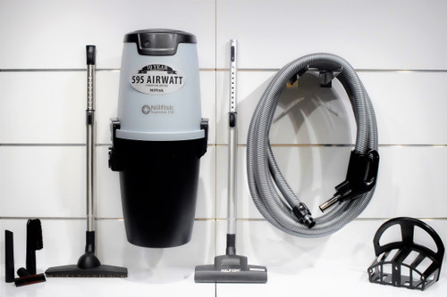 Nilfisk Supreme 150 Central Vacuum w/ Superior Package - 107404978 + SU10M