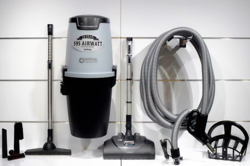 Nilfisk Supreme 150 Central Vacuum w/ Soft Clean Package - 107404978 + PA10MC