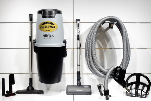 Nilfisk Supreme 250 Central Vacuum w/ Select Package - 107404979 + SE10M