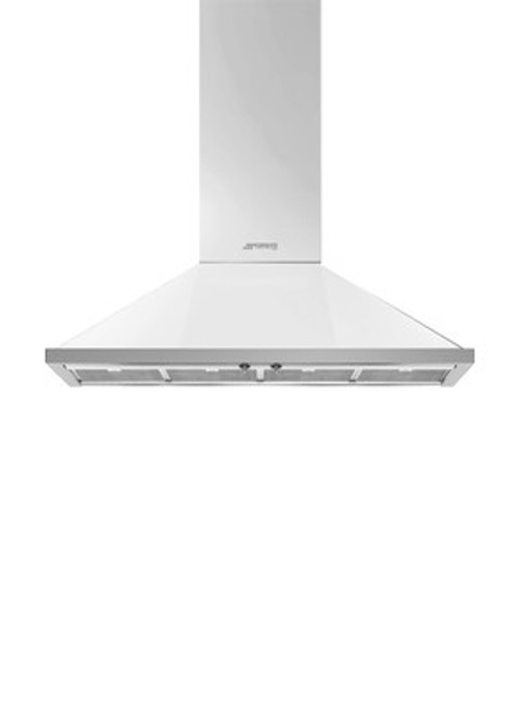"Smeg 48"" Portofino Chimney Wall Hood"