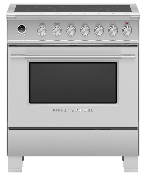 "Fisher & Paykel 30"" Classic Induction Range - Stainless Steel"
