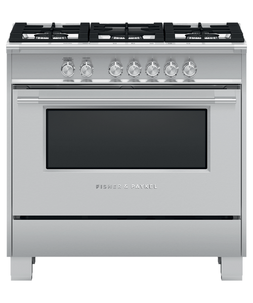 "Fisher & Paykel 36"" Classic Gas Range - Stainless Steel"