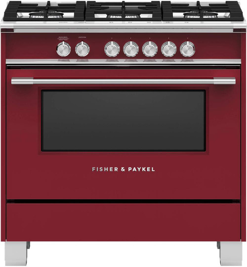 "Fisher & Paykel 36"" Classic Gas Range - Color"
