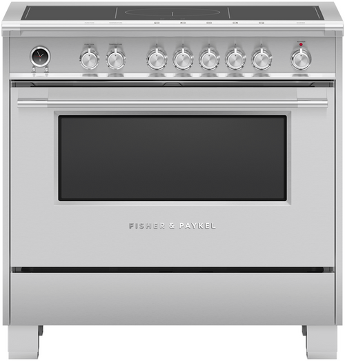 "Fisher & Paykel 36"" Classic Induction Range - Stainless Steel"