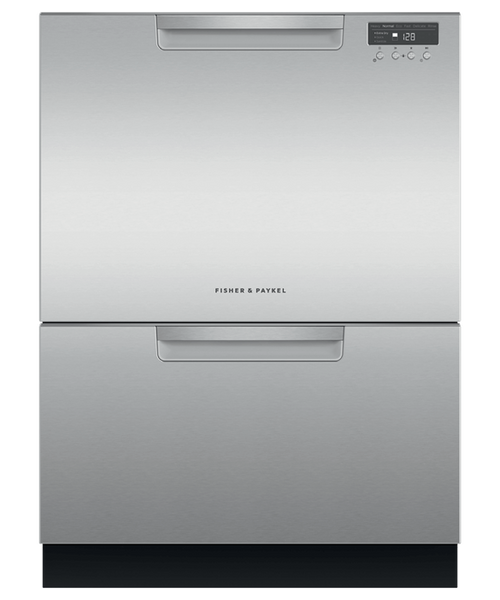 Fisher & Paykel Contemporary Stainless Steel Full Size Dishwasher - Double Drawer