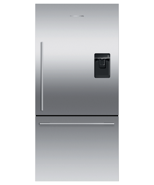 "Fisher & Paykel 32"" Contemporary Freestanding Fridge w/ Ice & Water"