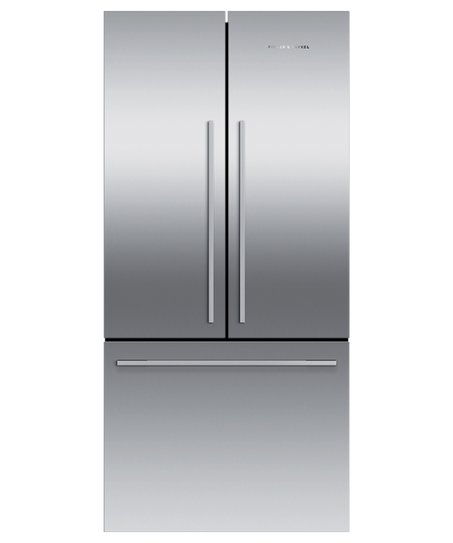 "Fisher & Paykel 32"" Contemporary Freestanding French Door Fridge"