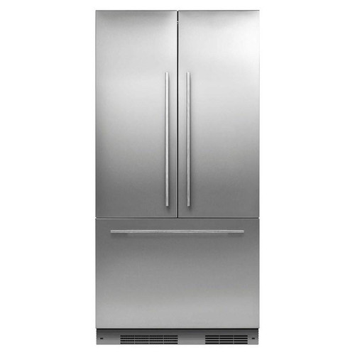 "Fisher & Paykel 36"" Contemporary Integrated French Door Fridge w/ Ice"
