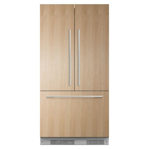 """Fisher & Paykel 36"""" Contemporary Integrated French Door Fridge w/ Ice"""