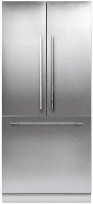 "Fisher & Paykel 36"" Contemporary Integrated French Door Fridge w/ Ice - Tall"