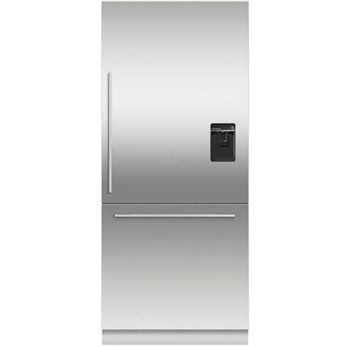 "Fisher & Paykel 36"" Contemporary Integrated Fridge w/ Ice & Water - Tall"