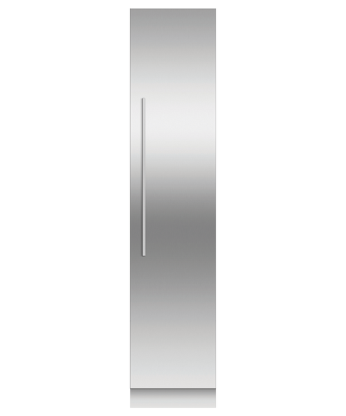 "Fisher & Paykel 18"" Contemporary Integrated Freezer Column w/ Stainless Steel Interior"