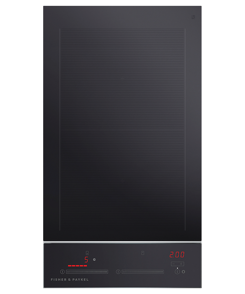 "Fisher & Paykel 12"" Contemporary Induction Cooktop w/ 2 Zones"