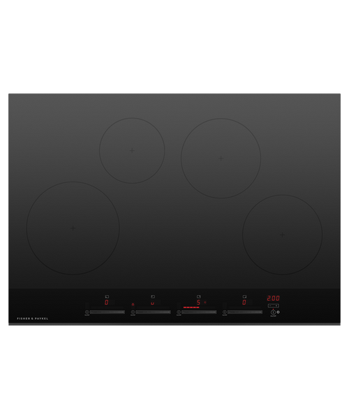 "Fisher & Paykel 30"" Contemporary Induction Cooktop w/ 4 Zones"