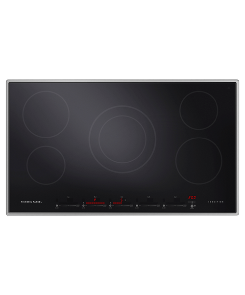 "Fisher & Paykel 36"" Professional Induction Cooktop w/ 5 Zones"