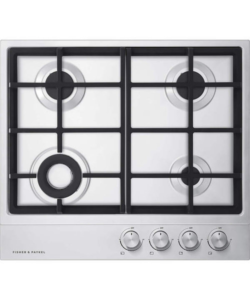 "Fisher & Paykel 24"" Contemporary Gas Cooktop w/ 4 Burners"
