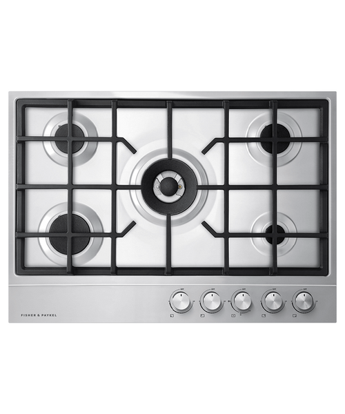 "Fisher & Paykel 30"" Contemporary Gas Cooktop w/ 5 Burners"