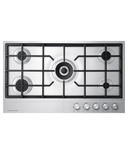 "Fisher & Paykel 36"" Contemporary Gas Cooktop w/ 5 Burners"