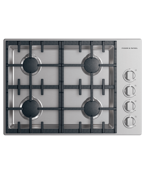 "Fisher & Paykel 30"" Professional Gas Cooktop w/ 4 Burners"