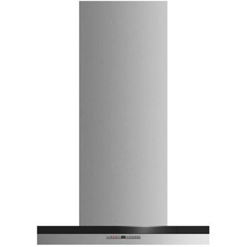"Fisher & Paykel 24"" Contemporary Box Chimney Hood"