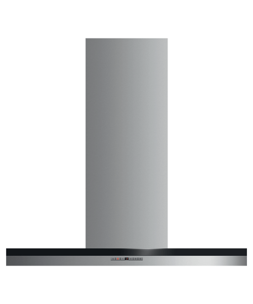 "Fisher & Paykel 36"" Contemporary Box Chimney Hood"