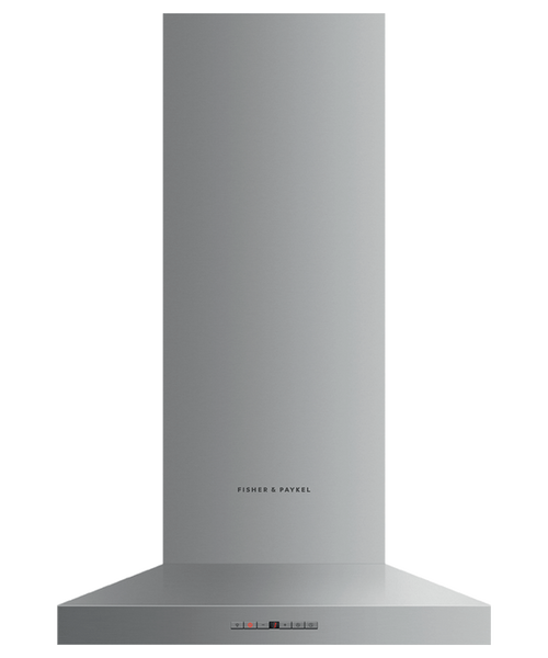 "Fisher & Paykel 24"" Contemporary Pyramid Chimney Hood"