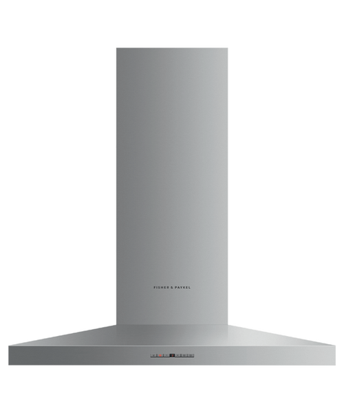 "Fisher & Paykel 36"" Contemporary Pyramid Chimney Hood"