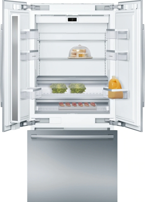 "B36BT930SN Bosch Built In 36"" Bottom Mount Fridge"